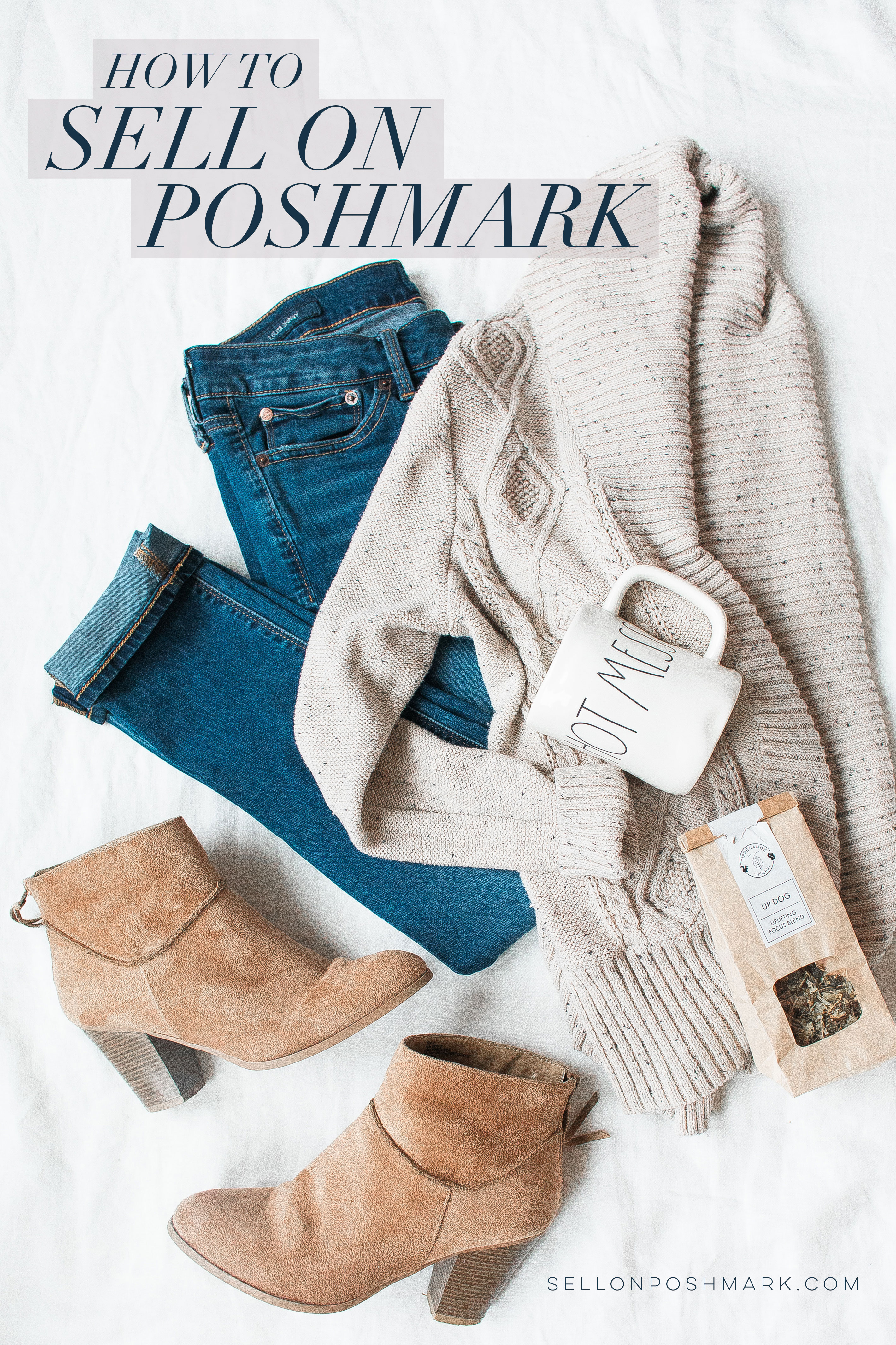 how to sell clothes on Poshmark