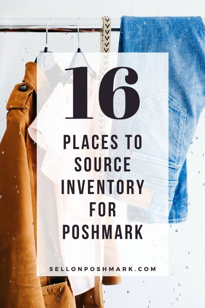 Where to source inventory for Poshmark
