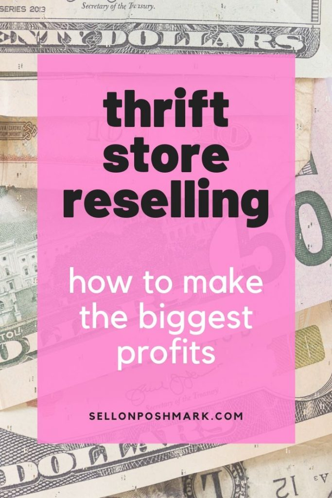Thrift store reselling: how to make the biggest profits